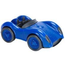 Load image into Gallery viewer, Green Toys Racing Car Made in the USA from 100% recycled plastic.
