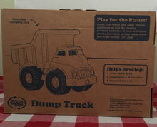 Load image into Gallery viewer, Green Toys Dump Truck Made in the USA from 100% recycled plastic.