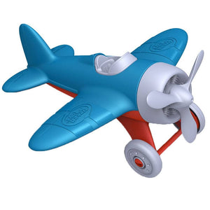 Green Toys Airplane Made in the USA from 100% recycled plastic.