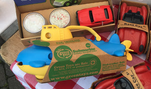 Green Toys Submarine ReLoooP Toys