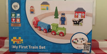 Load image into Gallery viewer, Bigjigs Rail My First Train Set