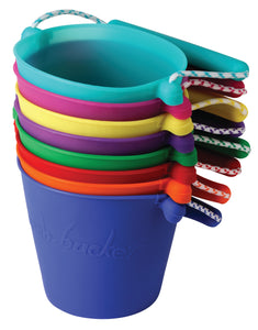 Various colours of Scrunch Bucket