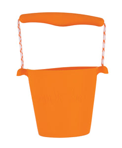 Orange Scrunch Bucket