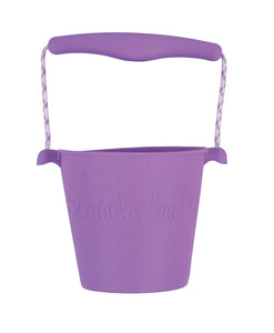 Purple Scrunch Bucket