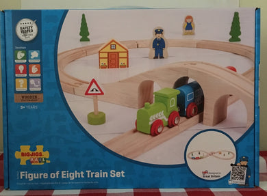 Bigjigs Rail Figure of Eight Train Set