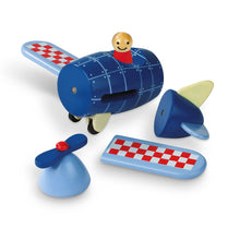 Load image into Gallery viewer, Janod MAGNETIC AIRPLANE (WOOD)