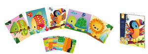 Janod Animals Sticker Cards with more than 720 stickers