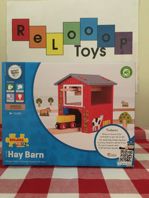 Bigjigs Rail Hay Barn