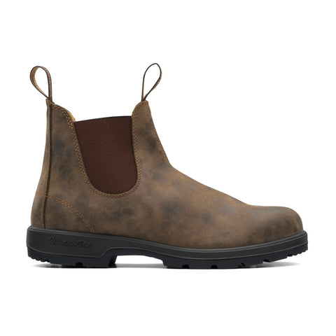 BLUNDSTONE CLASSIC CHELSEA BOOTS 585 - RUSTIC BROWN