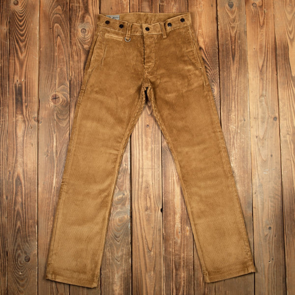 PIKE BROTHERS 1942 HUNTING PANT GOLIATH CORD - MUSTARD