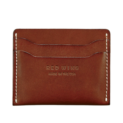 RED WING CARD HOLDER - ORO RUSSET