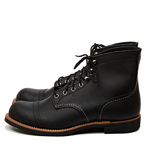 RED WING SHOES IRON RANGER 8084 - BLACK HARNESS