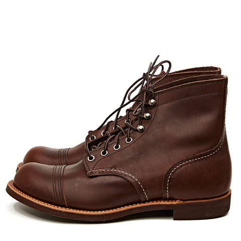 RED WING SHOES IRON RANGER 8111 - AMBER HARNESS