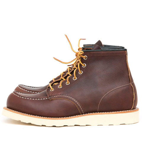 "RED WING SHOES 6"" CLASSIC MOC TOE 8138 - BRIARD OIL SLICK"