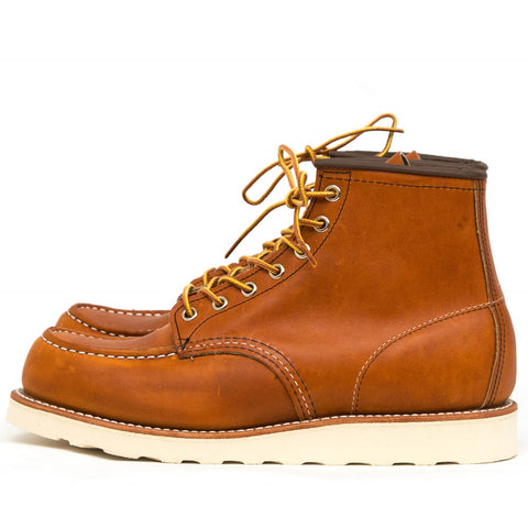 "RED WING SHOES 6"" CLASSIC MOC TOE 875 - ORO LEGACY"