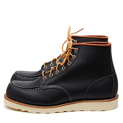 "RED WING SHOES 6"" CLASSIC MOC TOE 8859 - NAVY PORTAGE"
