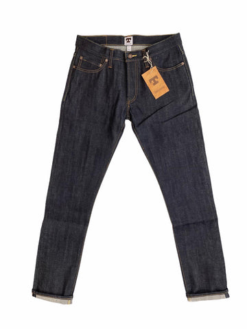 TELLASON GUSTAVE SLIM TAPERED SELVEDGE JEANS 14.75 OZ