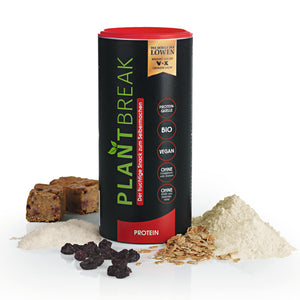 "PLANTBREAK Backmischung ""Protein"" + ""Genuss"" + PLANTBREAK Backform - PLANTBREAK Fitnessriegel"
