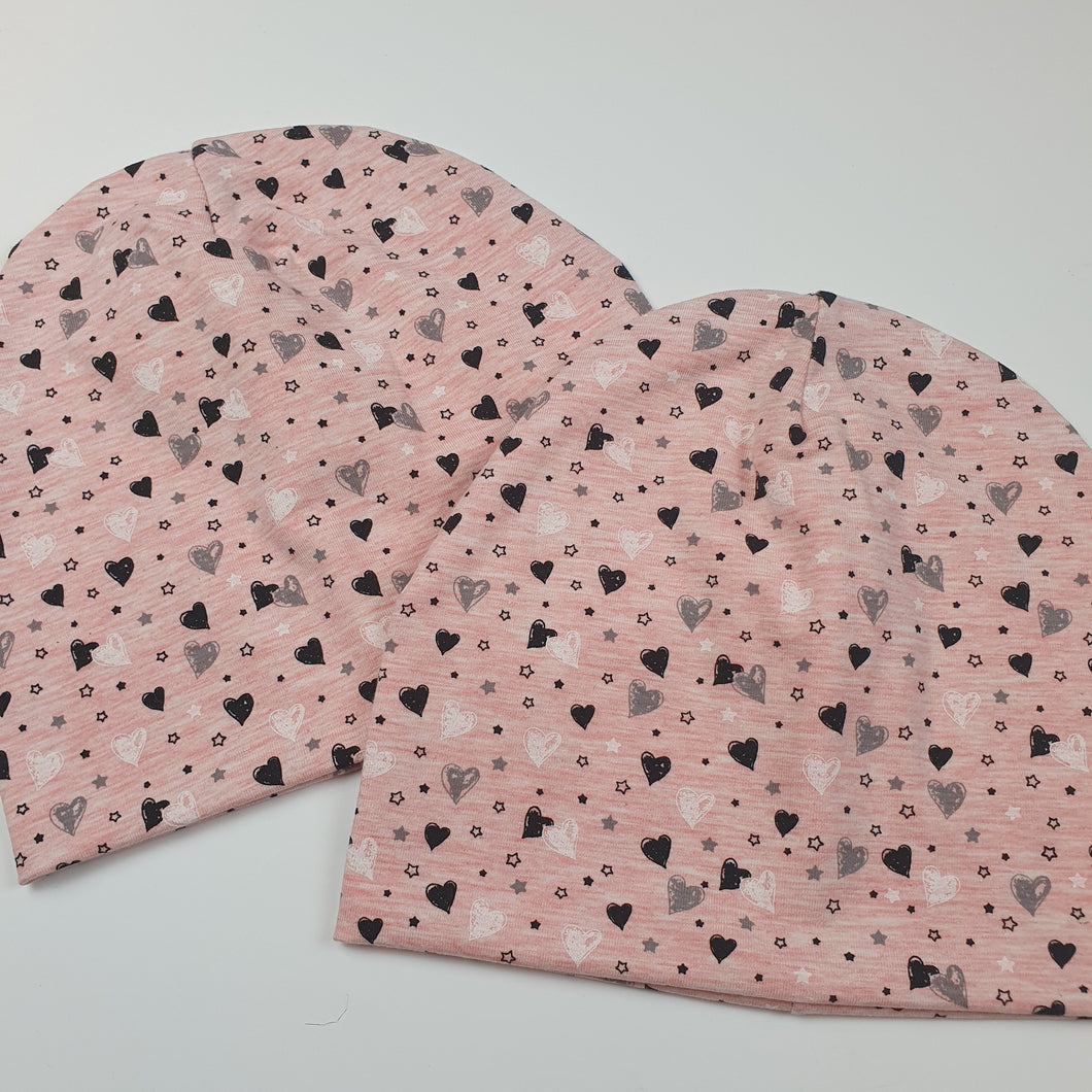 Small Hearts Pink