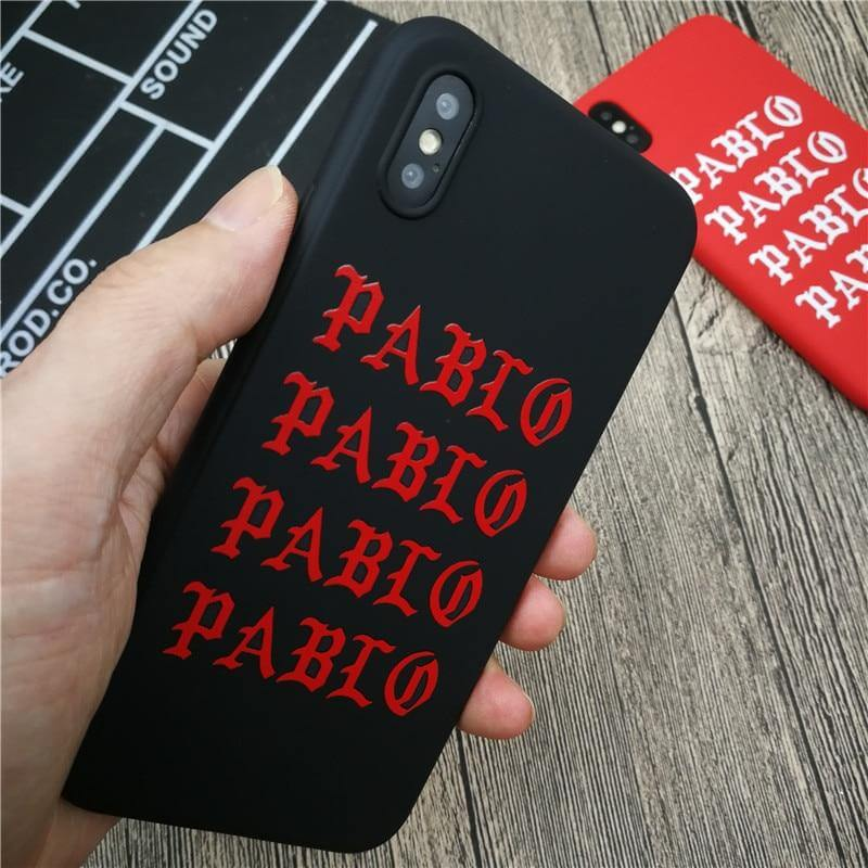 Coque iPhone Pablo