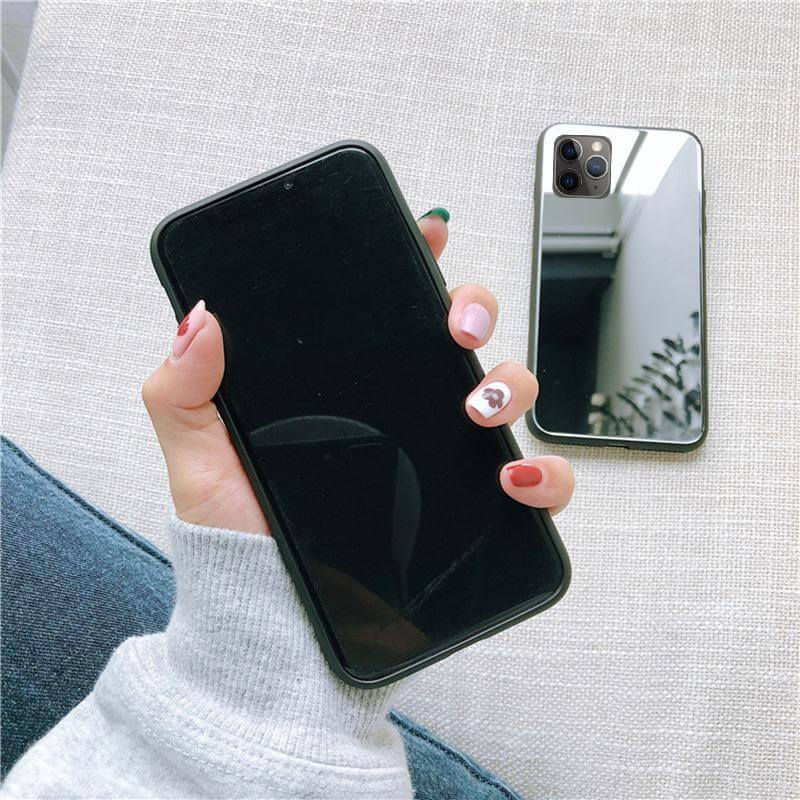 Coque iPhone Miroir