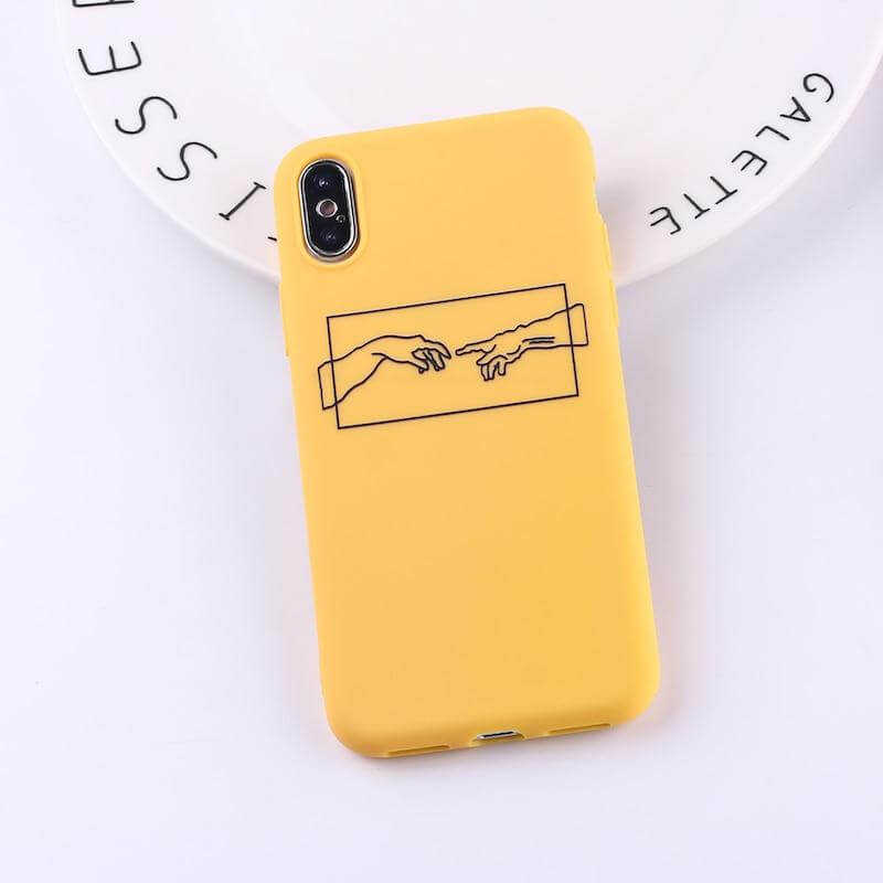 Coque iPhone Michelangelo