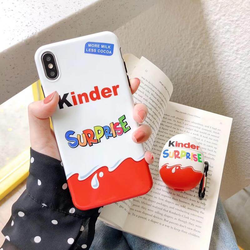 Coque iPhone Kinder