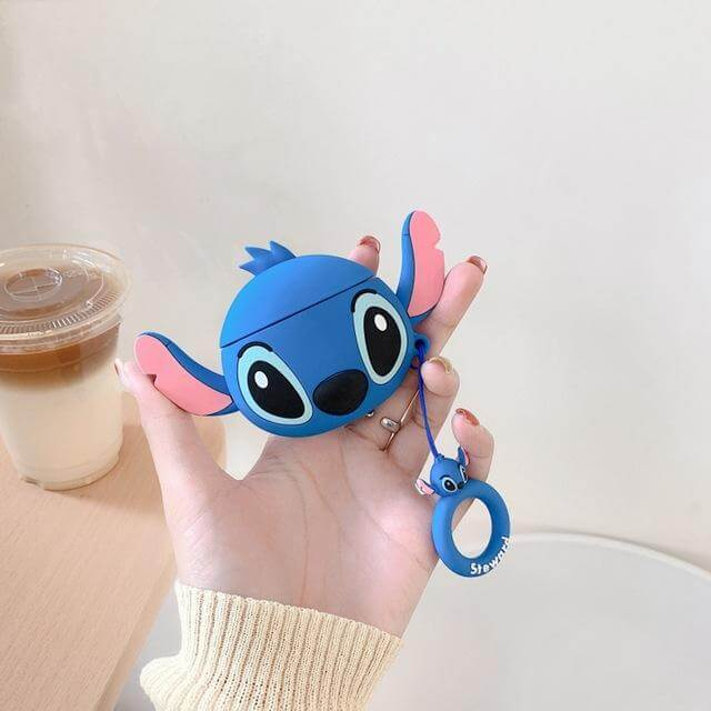 Coque Airpods Stitch