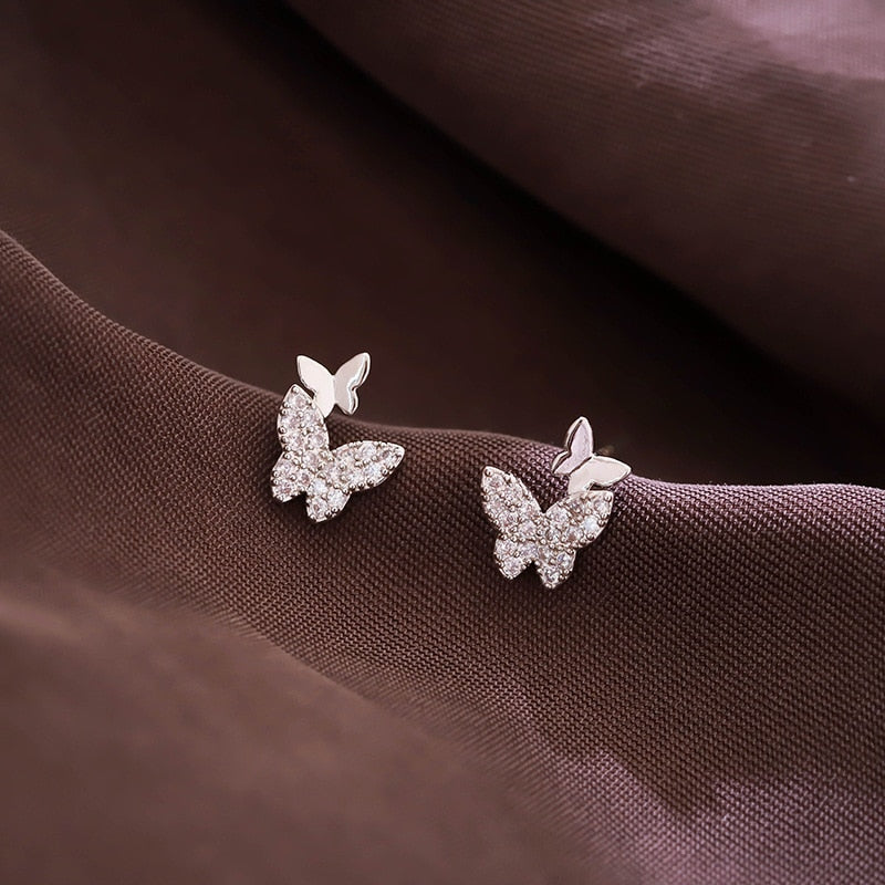 Pendants d'Oreille Butterfly Shine
