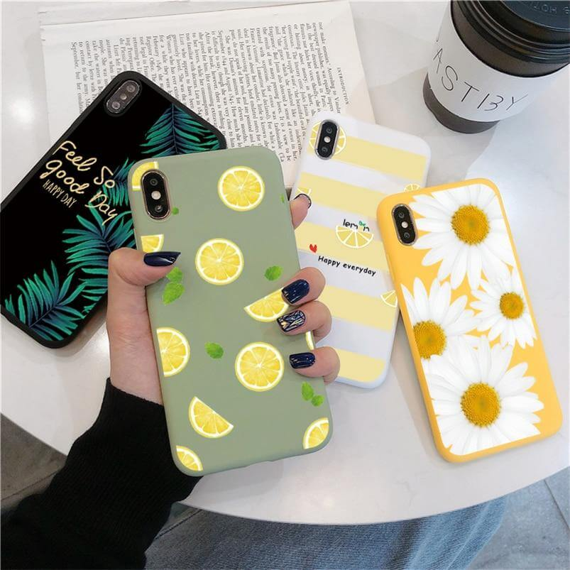 Coque iPhone Citron