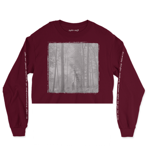 "the ""in the trees"" cropped long sleeve"