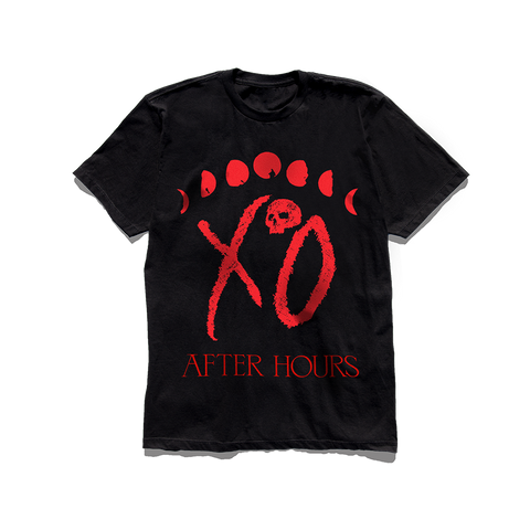 The Weeknd XO Logo Moon Phase Tee