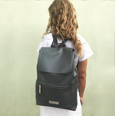 Vegan Women Laptop Backpack Women Backpack, Laptop Backpack, Faux Leather Backpack, Vegan Rucksack, Casual Backpack, Vegan Women Bag