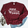 Vegan From My Head Tomatoes Sweatshirt