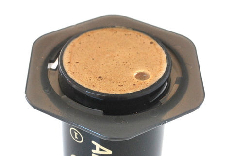 Aeropress Inverted Chamber Full