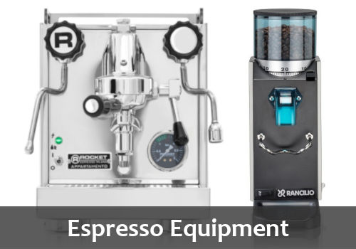 Espresso Equipment Banner