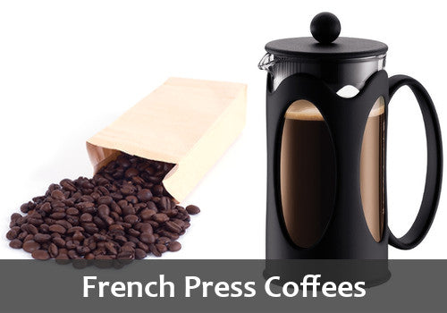French Press Plunger Coffees
