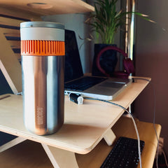 Pipamoka portable coffee maker for the office