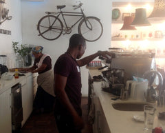 Barista Bar at Bean There Cape Town