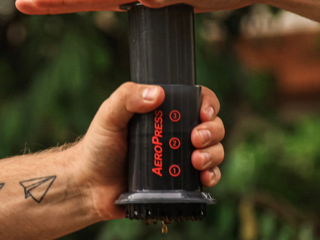 AeroPress Coffee Maker in the wild