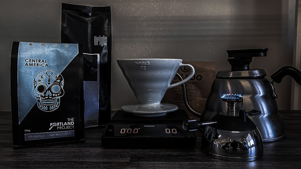 Loadshedding - Making coffee without electricity
