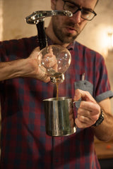 Mike decanting siphon