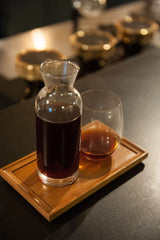 Siphon-brewed coffee