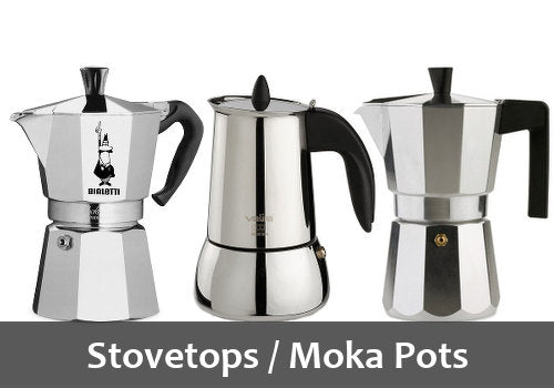 Stovetop Coffee Makers & Moka Pots