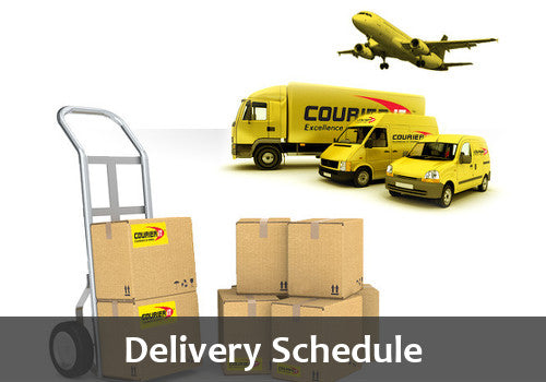Festive Season Delivery Schedule