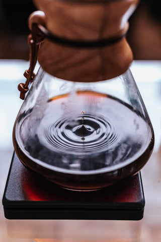 Pourover droplets