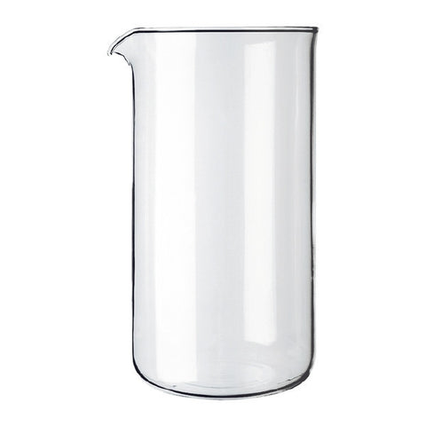 Bialetti Spare Glass Beaker For French Press Coffee Plunger