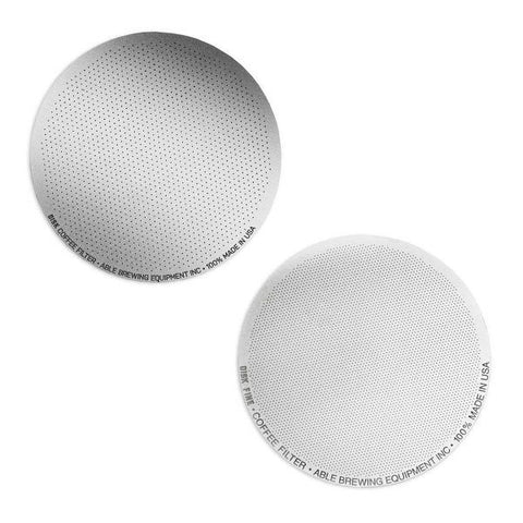 Able Stainless Steel DISK Aeropress Filter