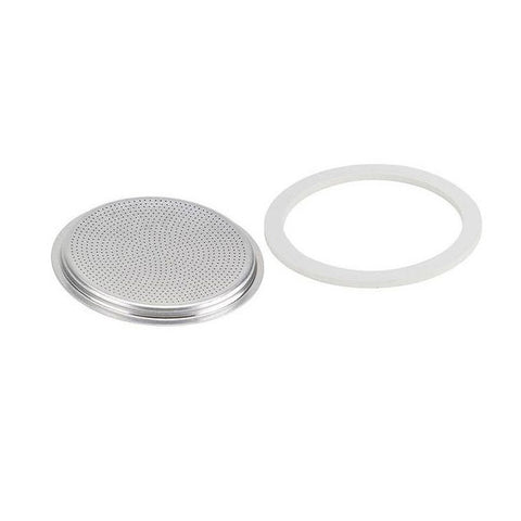 Bialetti Mukka Express Replacement Filter Plate And Gasket