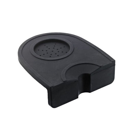 Brew Tool Corner Tamping Mat With Slot Black
